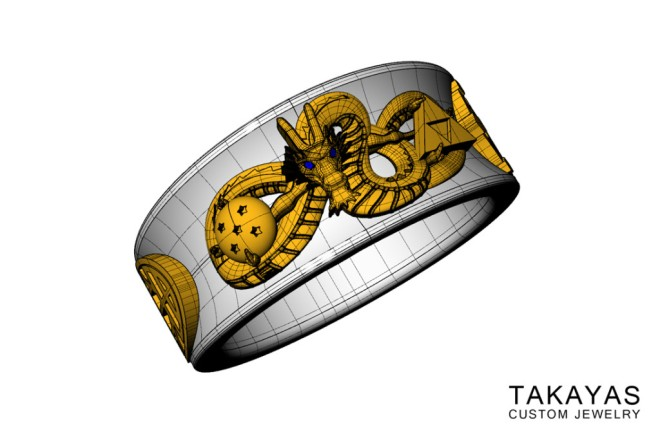 Takayas-Custom-Jewelry-Dragon-Ball-Ring-Designing-1024x682