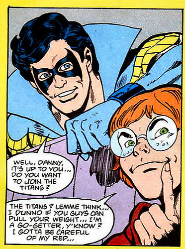 Nightwing is already regretting this offer.