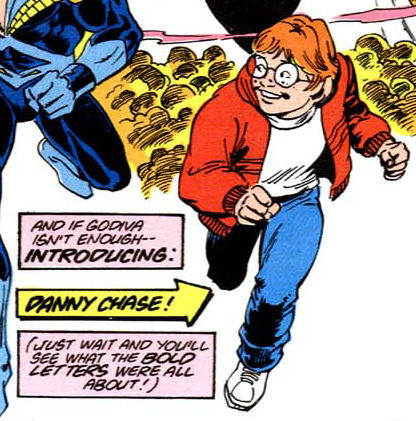 Note to Danny: the only characters that can get away with wearing street clothes as a superhero costume are both created by and happen to be British people. You are neither.
