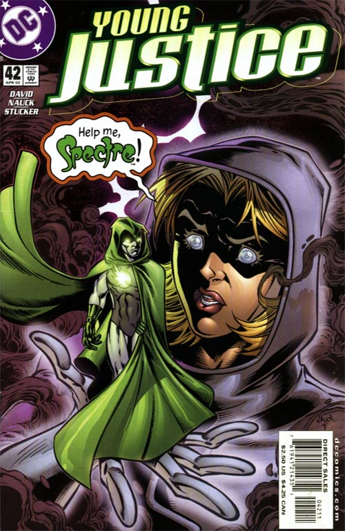 This is wrong on so many levels...by which I mean Hal Jordan should have never been the Spectre.