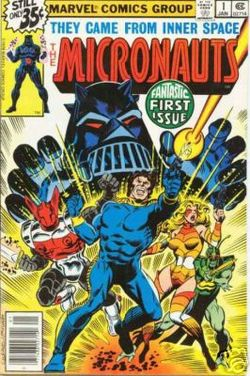 Trust me: they really were micronauts. They were tiny.